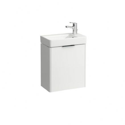 815954 - Laufen Pro S 480mm x 280mm Washbasin With Right Taphole & Base Vanity Unit - 8.1595.4